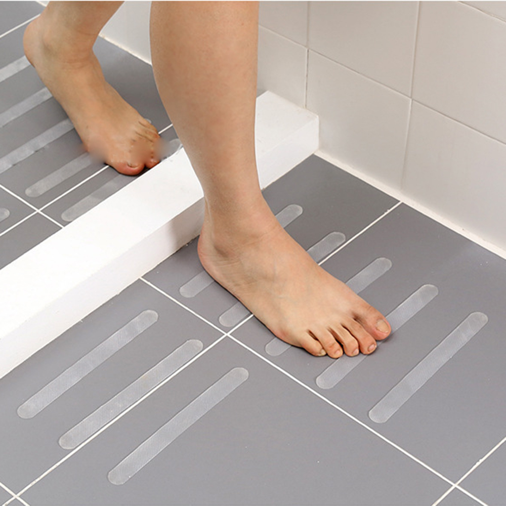 NEW PVC Anti Slip Shower Mat Massage Pebble Non Slip Safety Tube Bathroom Home