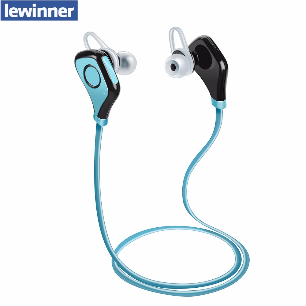 Nouveau lewinner s5 Bluetooth Casque Sans Fil Sport Bluetooth Écouteurs avec Micro Antibruit Casque Anglais Voix Écouteurs