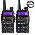 2PCS Baofeng UV-5R Dual Band Radio 136-174Mhz&400-520Mhz UV5R handheld Two Way Radio with free Programming Cable