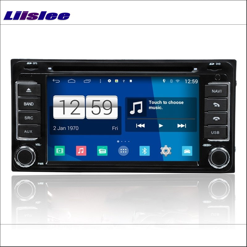 Liislee Car Navigation Android System For Nissan Rogue S Select 2007~2016 - Radio CD DVD Player GPS NAVI S160 Multimedia Stereo