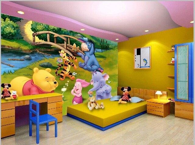 De dibujos animados winnie ther the pooh ni o ni os for Dormitorio animado