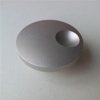 2 sztuk aluminiowa gałka pokrętło potencjometru 40*17 5*6mm peeling potencjometr cap pokrętło przełącznika samochodu dla wzmacniacz hi-fi tanie i dobre opinie Aluminum