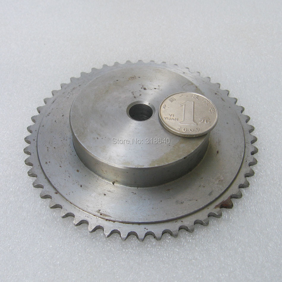 "04C 50T 50Teeth Pitch 6.35mm 1/4"" Bore not larger than 12.3mm Industry Transmission Driving Single Row Sprockets mechanical part