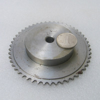 """04C 50T 50Teeth Pitch 6.35mm 1/4"""" Bore not larger than 12.3mm Industry Transmission Driving Single Row Sprockets mechanical part