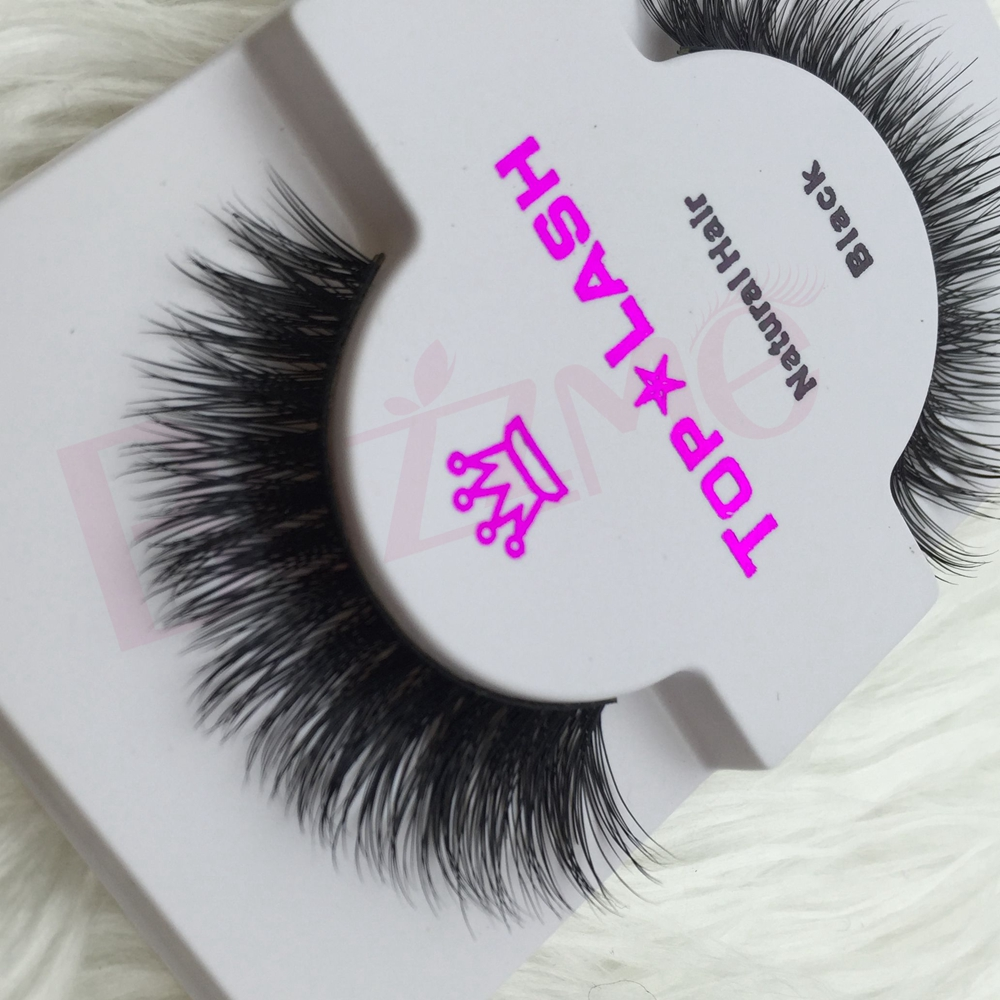 859e31d4605 Free shipping YD1 100% mink eyelashes full strip individual pair handmade  thick long natural soft mink lashes extension