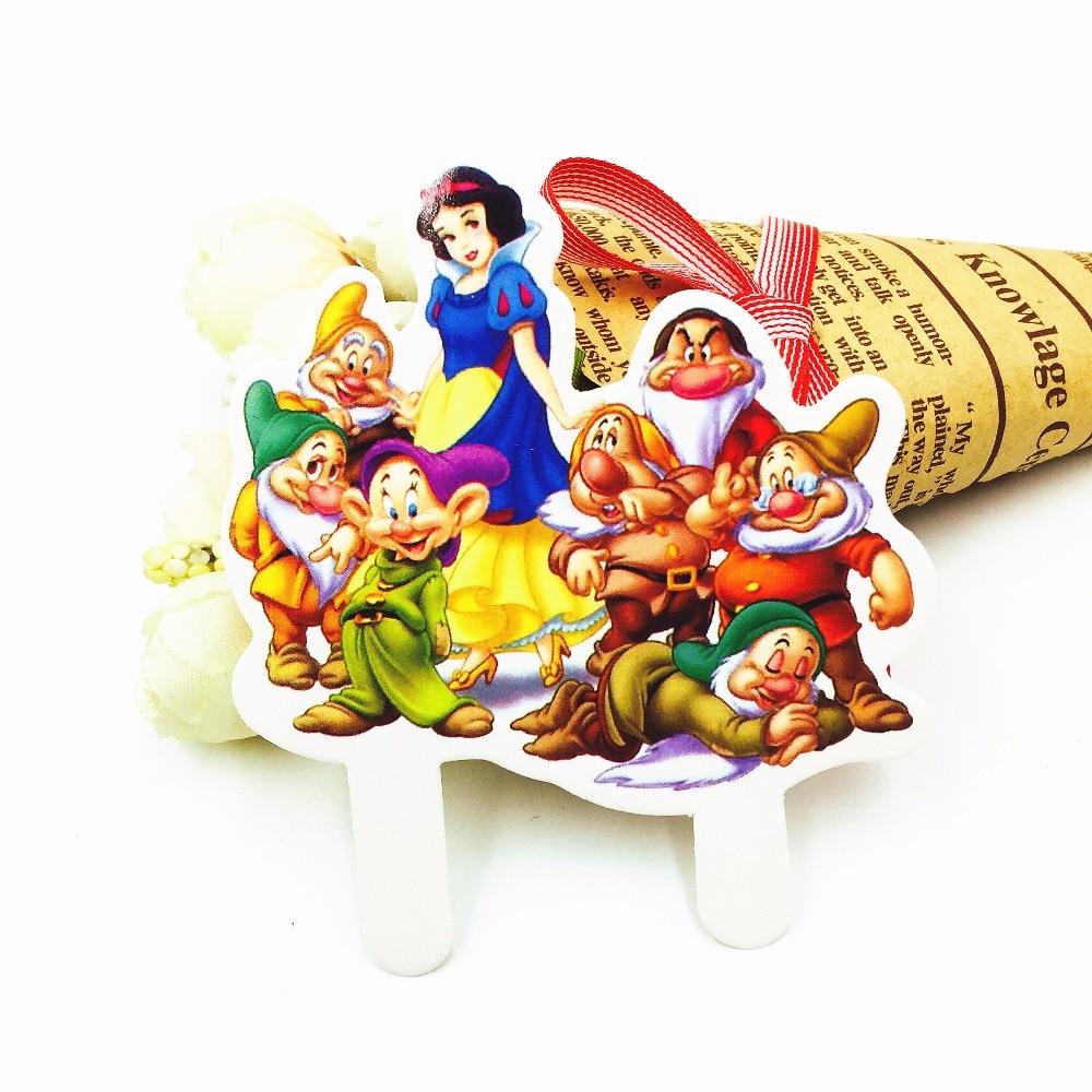 unids princesa nios de baby shower cumpleaos fuentes del partido de papel de la magdalena de la torta para hor