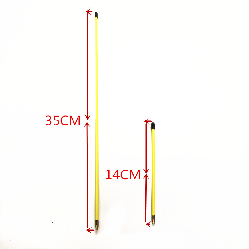Image 2 - Yellow Long and Short Antenna Soft Antenna 144/430MHZ SMA M for  VX 5R, VX 6R, VX 7R, VX 8R, VX 110 radios-in Communications Antennas from Cellphones & Telecommunications
