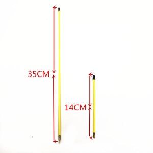 Image 2 - Yellow Long and Short Antenna Soft Antenna 144/430MHZ SMA M for  VX 5R, VX 6R, VX 7R, VX 8R, VX 110 radios