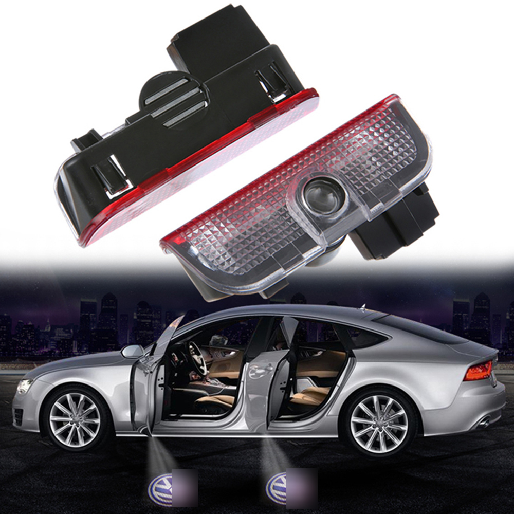 Car Door Light LED Welcome Logo Auto Lamp for VW PASSAT b6 b7 TIGUAN CC Golf