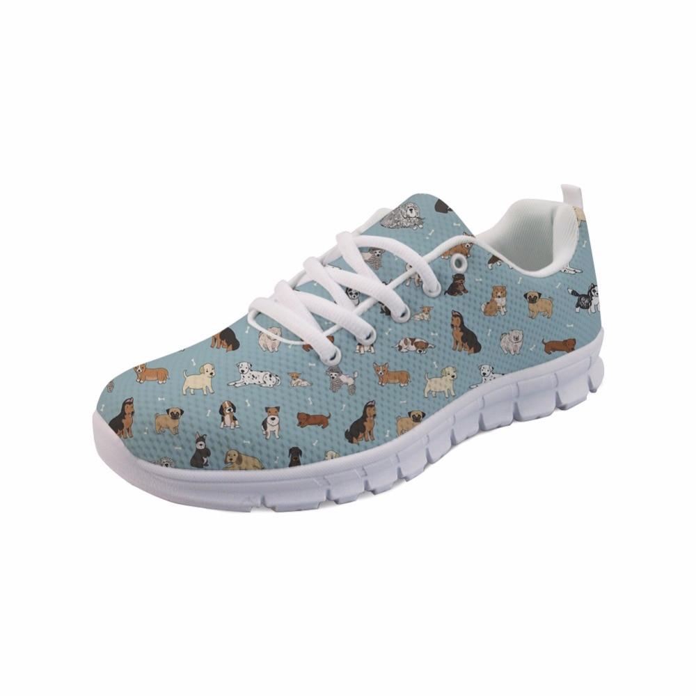 FORUDESIGNS Kvinnor Casual Shoes Kvinnlig Utomhus Platt Andningsbar - Damskor - Foto 2