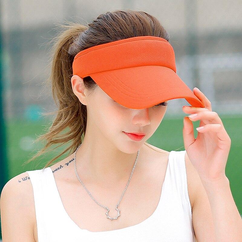 SORRYNAM Visor Sombrero Sombrero de la Marca de Sun de Las Mujeres de - Accesorios para la ropa - foto 6
