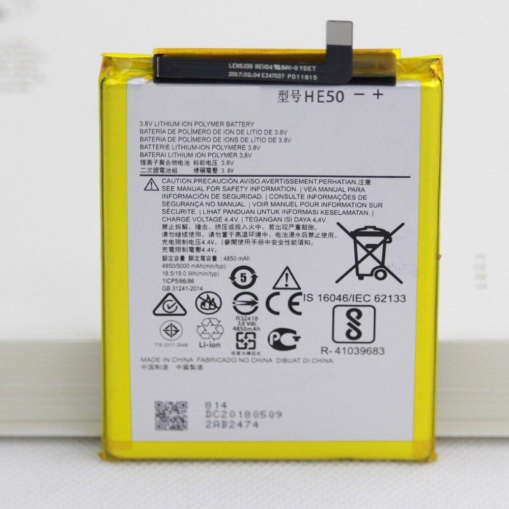 Isunoo 5000 mah he50 bateria do telefone para motorola moto e4 plus xt1773 xt1775 bateria de substituição interna móvel com presente + ferramentas