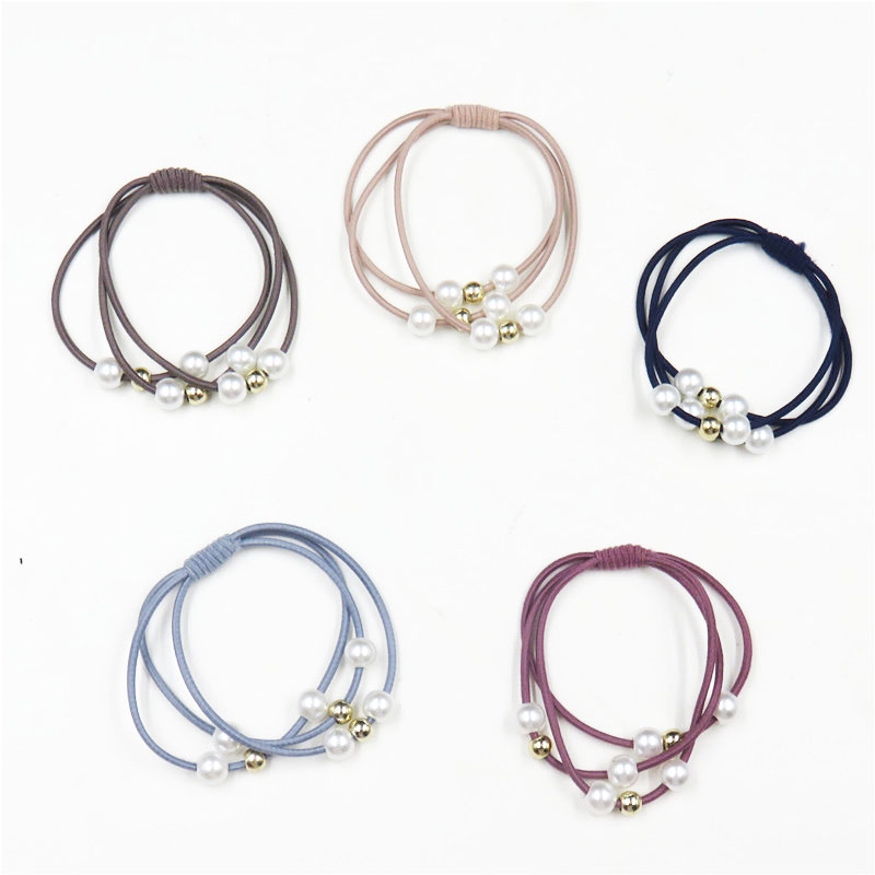 1PCS Simple Knot Elastic Hair Bands For Girls Bohemian Headband Scrunchy Korean Fashion Kids Hair Accessories For Women 2018