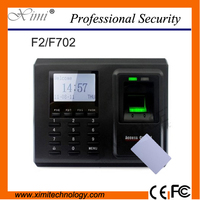 High Quality Linux System Tcp Ip Communication F2 13 56Mhz Card Reader Fingerprint Door Access Controller