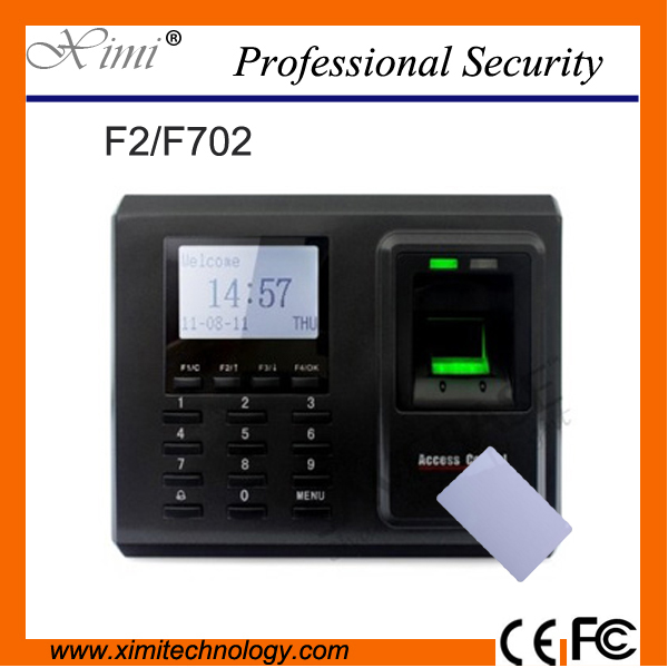High Quality Linux System Tcp/Ip Communication F2 13.56Mhz Card Reader Fingerprint Door Access Controller