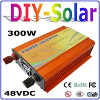 solar system 300W 48V Inverter, High Frequency Pure Sine Wave Off Grid Inverter for Home Use Solar System