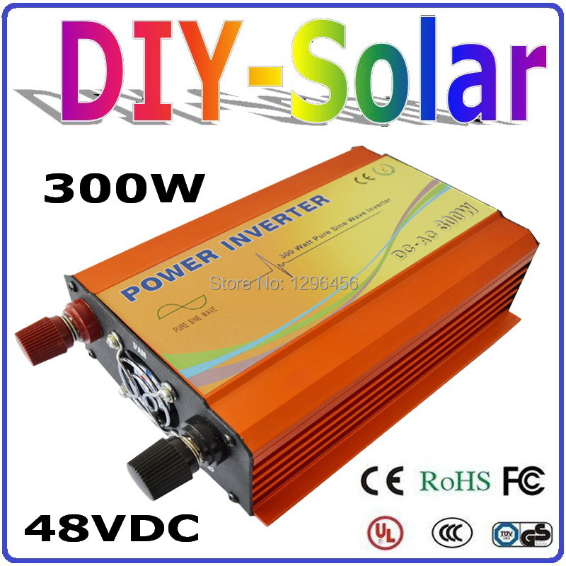 цена на solar system 300W 48V Inverter, High Frequency Pure Sine Wave Off Grid Inverter for Home Use Solar System