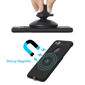 Image 3 - צ י מטען אלחוטי מקלט מקרה עבור iPhone 7 6 6s מקרה טלפון נייד אלחוטי טעינת Pad Dock כיסוי עבור iPhone 7 בתוספת 6 6s 8