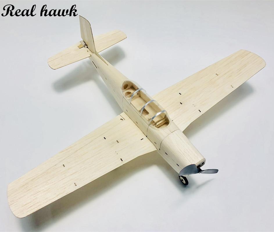 MininimumRC Plane Laser Cut Balsa Wood Airplane Kit Mentor T34 Frame Model Building Kit