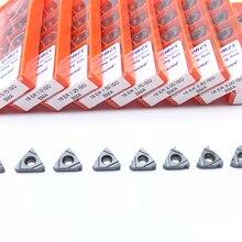 10pcs 16ER 1.5 ISO BMA 0.75 1.25 2.0 3.0ISO קרביד מוסיף חוט חיתוך חיצוני הפיכת כלי CNC חותך להב SER צריח