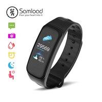 Samload sport bracelet Intelligent Écran Tactile Couleur Fitness Tracke D'oxygène Sanguin Poignet iP67 Bande 3 Pour Xiaomi Android Apple iPhone X