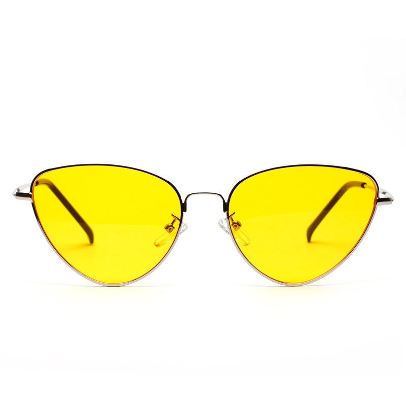 d100e427074 Dropwow Retro Vintage Sunglasses Women Small Face Luxury Cateye Pink ...