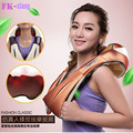 U Shape Electrical Shiatsu Back Neck Shoulder Massager Body Infrared 3D Neck Waist Back kneading  massager Car Home Pillow