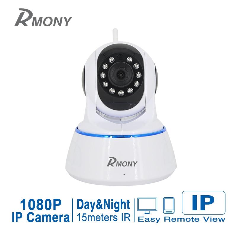 imágenes para RMONY Home cámaras de Seguridad Ip Inalámbrica WiFi Cámara de 2MP Cámara de Vigilancia 1080 P de Visión Nocturna CCTV Cámara de Monitor de Bebé