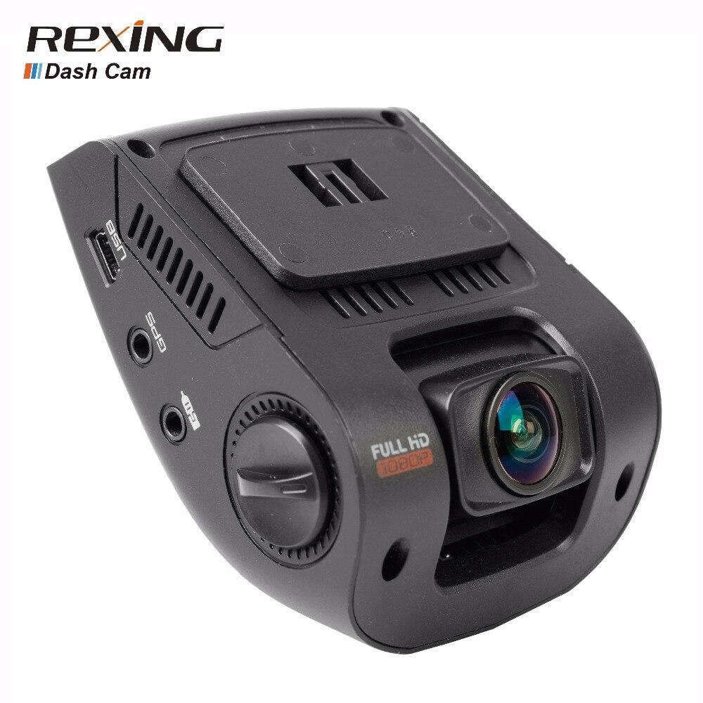 Rexing В1 автомобиля автомобиль DVR камеры тире-камеры с разрешением 1080p пикс 170 широкий угол камеры приборной панели с G-Датчик, видеорегистратор, ночного видения,бесплатный Разъем