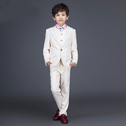 ФОТО 2016 new arrival fashion baby boys kids blazers boy suit for weddings prom formal Wine red white dress wedding boy suits