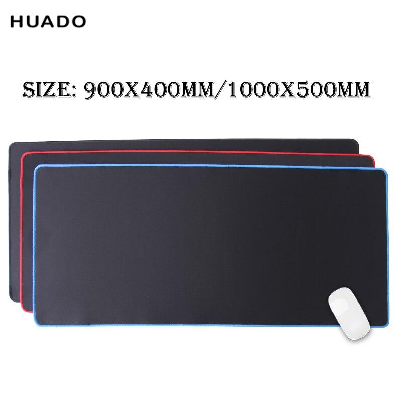 mouse pad grande gaming accessories big mat gamer 900x400mm/1000x500mm keyboard