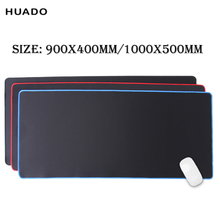 mouse pad grande gaming accessories big mat gamer 900x400mm/1000x500mm keyboard