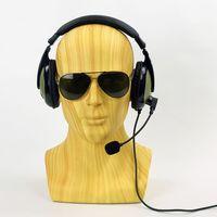 58 CM Fiberglas Artı Boyutu İmitasyon Ahşap Tahıl Erkek Manken Kafası  manken Kukla Kafa Kask Sunglass VR Şapka Ekran