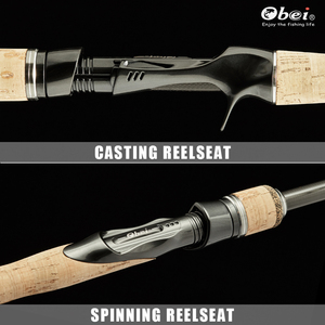 Image 3 - obei hurricane spinning casting carbon fishing rod portable travel spin cast 1.8m 2.1m 2.4m 2.7m  ultra light lure fishing rod