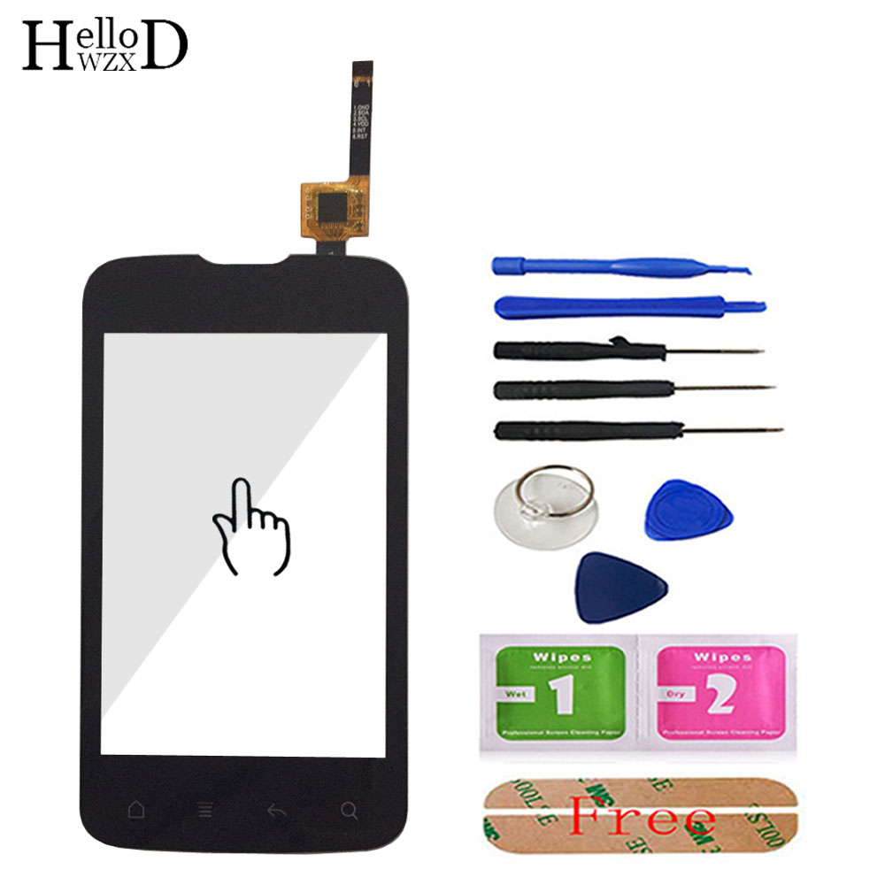3.5 Inch HighScreen For Fly IQ238 IQ 238 Touch Screen Digitizer Panel Front Glass Lens Sensor Repair Parts Tools + Free Adhesive