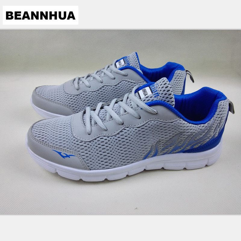 BEANNHUA new sport shos running shoes for men men s air mesh sport shoes summer and