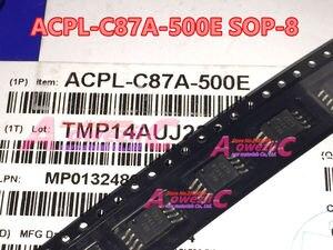 Image 2 - Aoweziic 2018 + % 100 yeni ithal orijinal ACPL C87A ACPL C87A 500E C87A ACPL C87AT 500E C87AT SOP 8 İzolasyon Optocoupler
