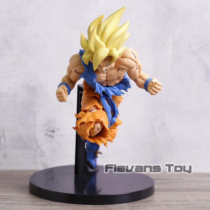 Jump 50th Anniversary Dragon Ball Z Super Saiyan Son Goku PVC Action Figure