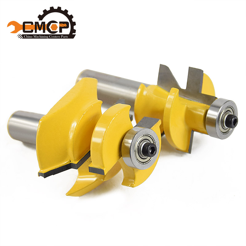 CMCP! 1/2 shank router bit for woodworking Woodruff Keyseat Milling Cutters Tongue & Groove and V-notch Router Bit 1 2 shank router bit milling cutters for doors woodworking tool trimming flooring wood tools