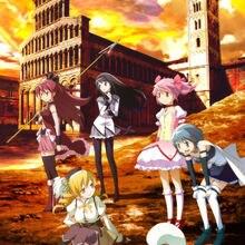 0656B Puella Magi Madoka Magica Anime-Wall Sticker Silk Post