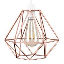 2pcs Diamond Wrought Iron Led Lamp Covers Retro Creative Chandelier for Bar Cafe Restaurant Chandelier Light Bulb Lamp Shade