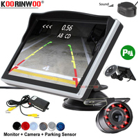 Koorinwoo Car Parking Sensor Dash board Monitor Parking Window Sucker Blind spot Sensor Detector Jalousie Parkmaster Rear Camera
