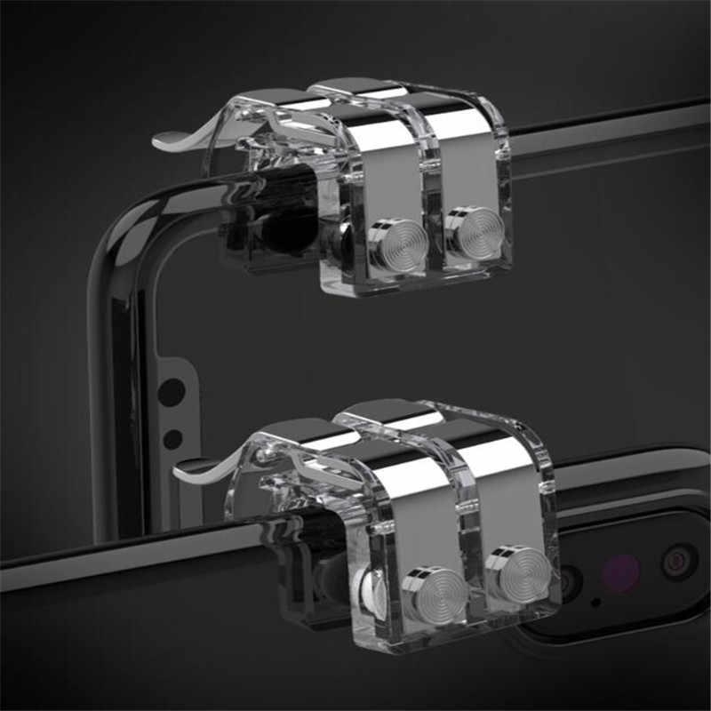 新到着 R11s ゲームパッド PUBG モバイルコントローラトリガーコントロール電話ゲームパッド L1R1 ゲームのシューティングゲーム Iphone アンドロイドジョイスティック