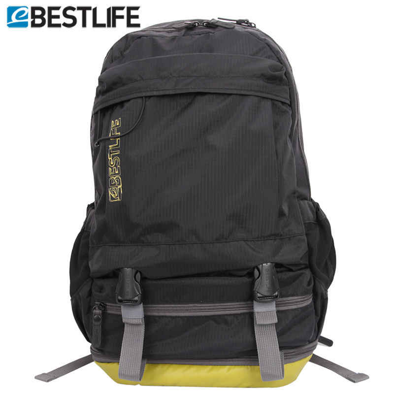 BESTLIF Unisex Travel Bag Pack Light Weight laptop Backpack Rucksack With Shoes Compartment Waterproof Ripstop Nylon Backpacking