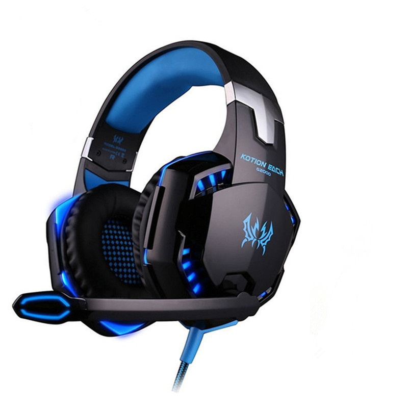 Gaming Headphones G2000 Deep Bass Stereo 2