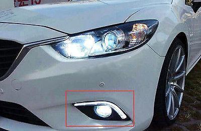 LED Fog light DRL Daytime Running Light for Mazda 6 M6 Atenza 2013-2016