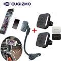 EUGIZMO Coche Magnética Sostenedor Del Teléfono con $ number puertos USB Puerto Del Cargador + 2 unids Coche Magnética Sostenedor de la Salida Para El Iphone Samsung Xiaomi HTC GPS