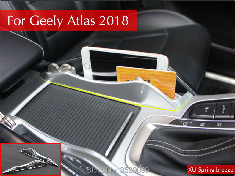 Car Styling Car Console Armrest Storage Box Container Glove Organizer Case For Geely Atlas 2017 2018 etx003700 sensor used in good condition