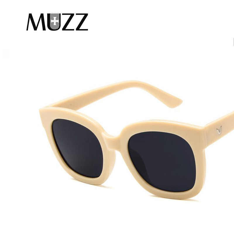 a2023317a9 ... 2018 Fashion Square Korean Sunglasses Women Retro Brand Designer Sun Glasses  for Female New Summer Oversized ...