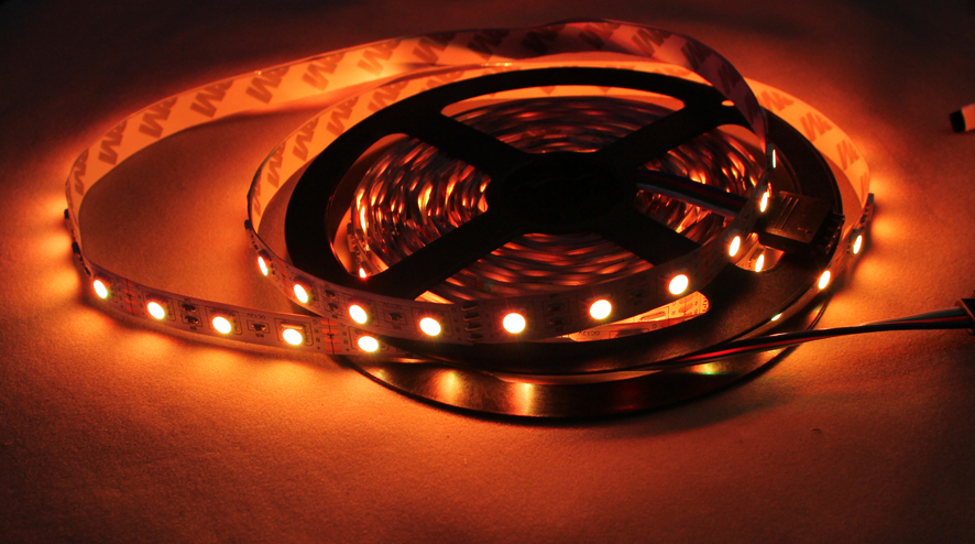HTB1vQkaGpXXXXbsXpXXq6xXFXXXb - Hight light LED Strip, LED lamp  No-waterproof, SMD5050, 60LED /m; only RGB strip with connector   free ship